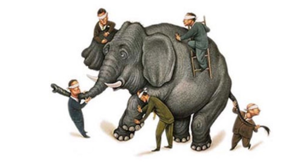 Six Blind Men, an Elephant, and Wall Street